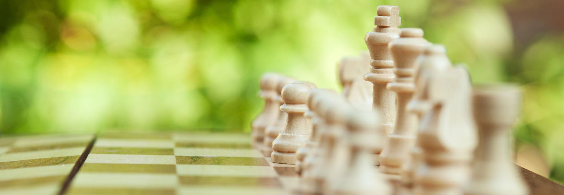 Zug um Zug Schachbrett